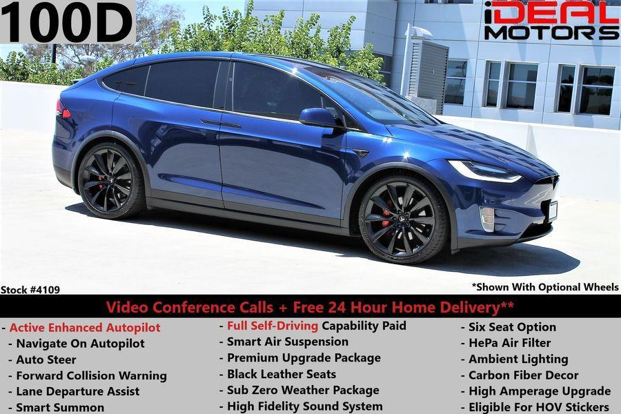 Used 2017 Tesla Model x in Costa Mesa, California | Ideal Motors. Costa Mesa, California