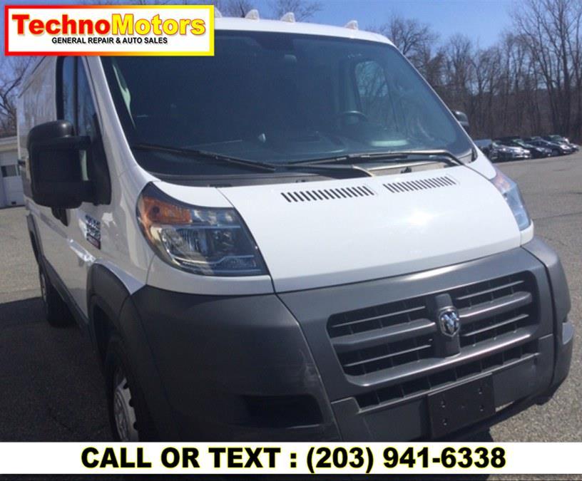Used 2018 Ram ProMaster Cargo Van in Danbury , Connecticut   Techno Motors . Danbury , Connecticut