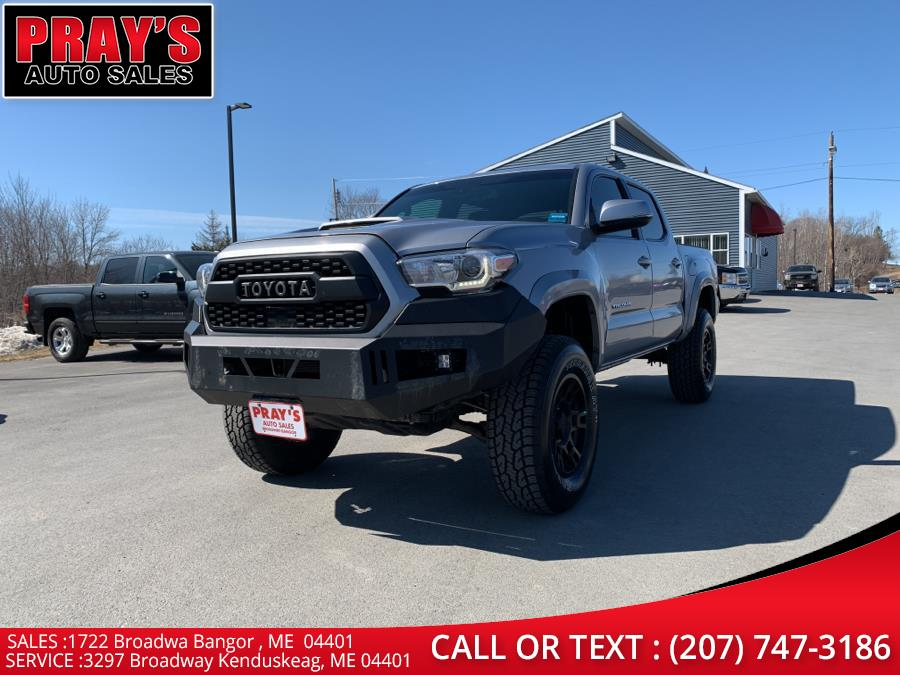Used Toyota Tacoma TRD Sport Double Cab 5'' Bed V6 4x4 MT (Natl) 2018 | Pray's Auto Sales . Bangor , Maine