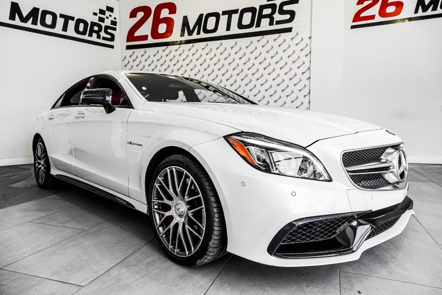 Used Mercedes-Benz CLS ///AMG 4dr Sdn AMG CLS 63 S-Model 4MATIC 2016 | Diamond Cars R Us Inc. Franklin Square, New York