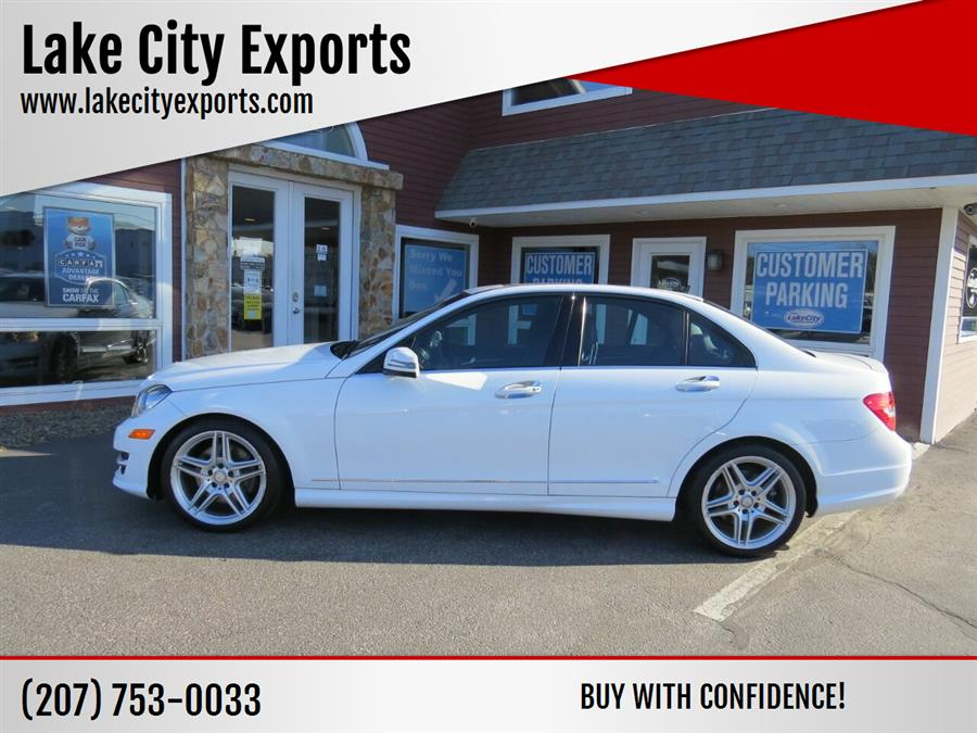 Used Mercedes-benz C-class C 300 Sport 4MATIC AWD 4dr Sedan 2014 | Lake City Exports Inc. Auburn, Maine