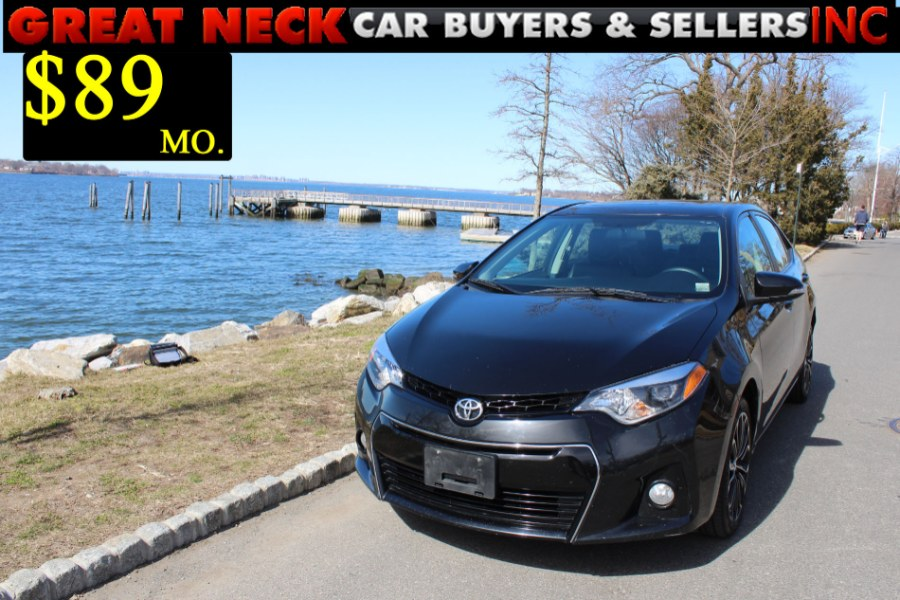 2014 Toyota Corolla 4dr Sdn S Plus, available for sale in Great Neck, NY