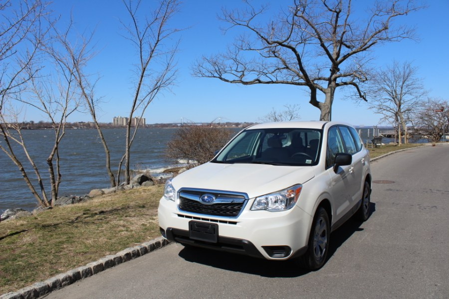 2015 Subaru Forester 4dr 2.5i PZEV, available for sale in Great Neck, NY