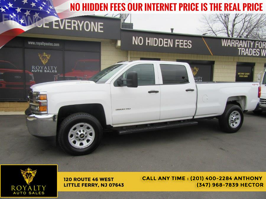 Used 2015 Chevrolet Silverado 3500HD Built After Aug 14 in Little Ferry, New Jersey | Royalty Auto Sales. Little Ferry, New Jersey