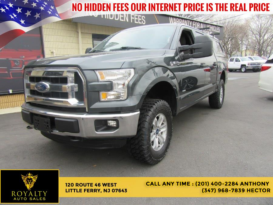 """Used Ford F-150 4WD SuperCrew 145"""" XLT 2015 