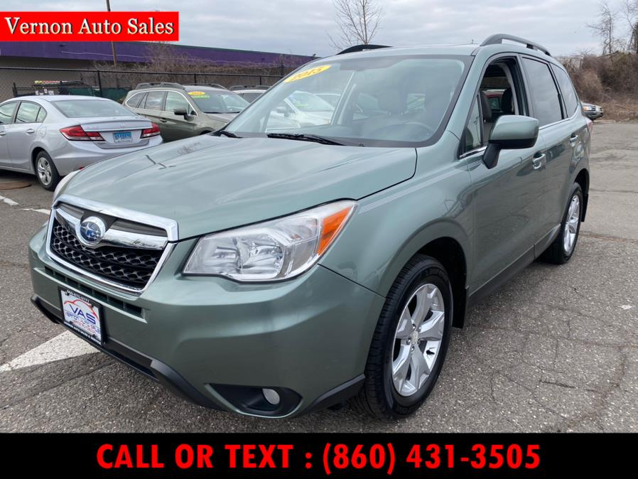 Used 2015 Subaru Forester in Manchester, Connecticut | Vernon Auto Sale & Service. Manchester, Connecticut