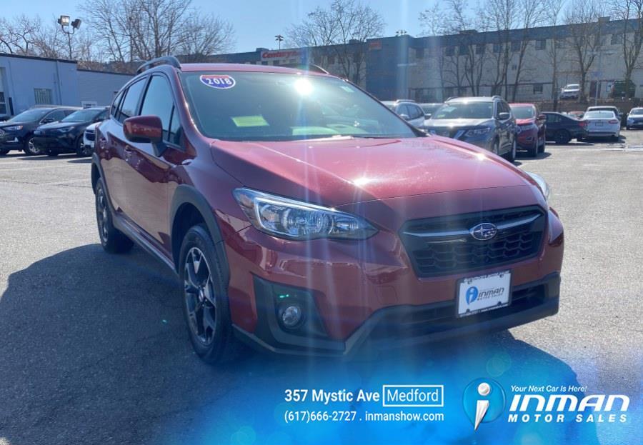Used Subaru Crosstrek 2.0i Premium CVT 2018 | Inman Motors Sales. Medford, Massachusetts