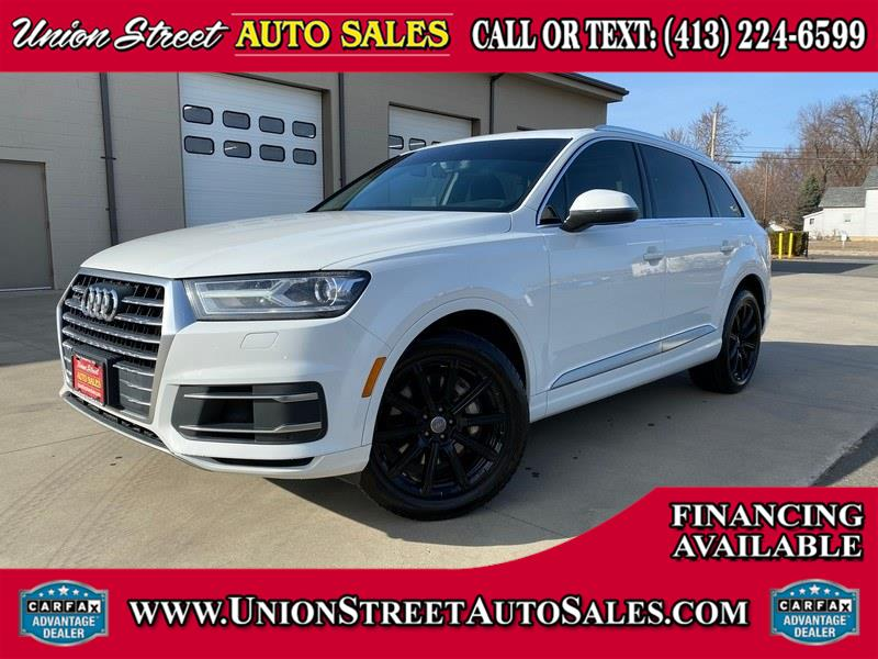 Used Audi Q7 3.0 TFSI Premium Plus 2017 | Union Street Auto Sales. West Springfield, Massachusetts