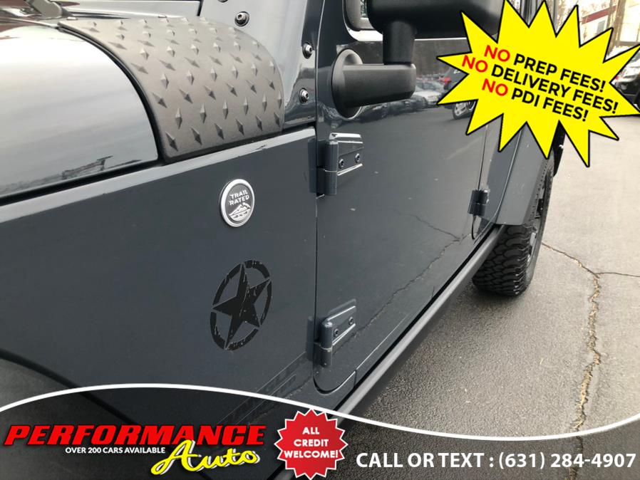 Used Jeep Wrangler Unlimited 4WD 4dr Willys 2016 | Performance Auto Inc. Bohemia, New York