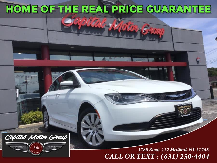 Used Chrysler 200 4dr Sdn LX FWD 2015 | Capital Motor Group Inc. Medford, New York