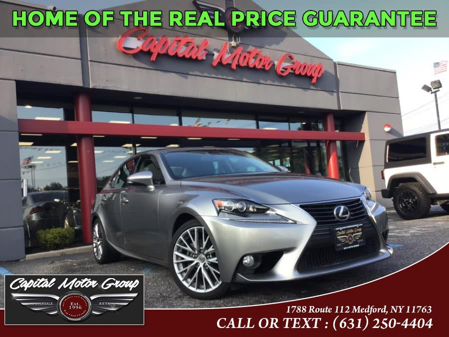 Used Lexus IS 250 4dr Sport Sdn Auto AWD 2014 | Capital Motor Group Inc. Medford, New York