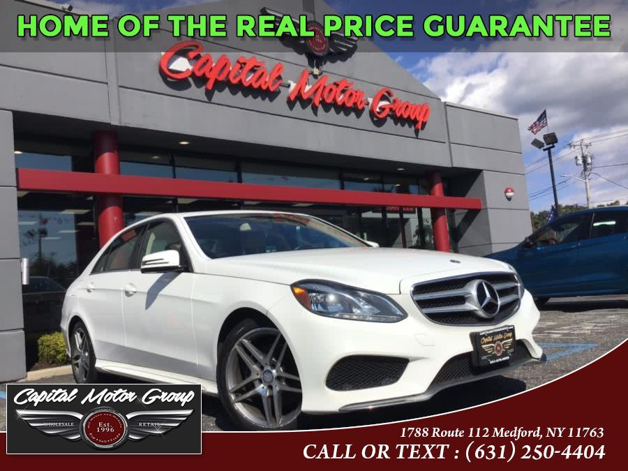 Used Mercedes-Benz E-Class 4dr Sdn E350 Luxury 4MATIC 2014 | Capital Motor Group Inc. Medford, New York