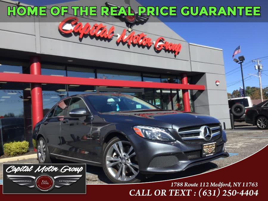 Used Mercedes-Benz C-Class 4dr Sdn C300 Luxury 4MATIC 2015 | Capital Motor Group Inc. Medford, New York