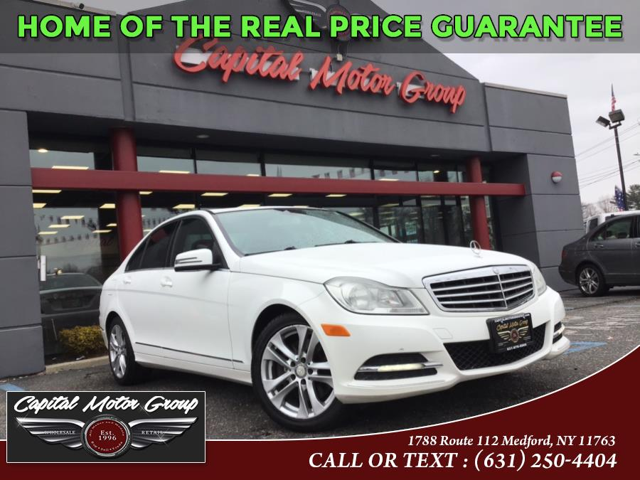 Used Mercedes-Benz C-Class 4dr Sdn C 300 Sport 4MATIC 2013 | Capital Motor Group Inc. Medford, New York