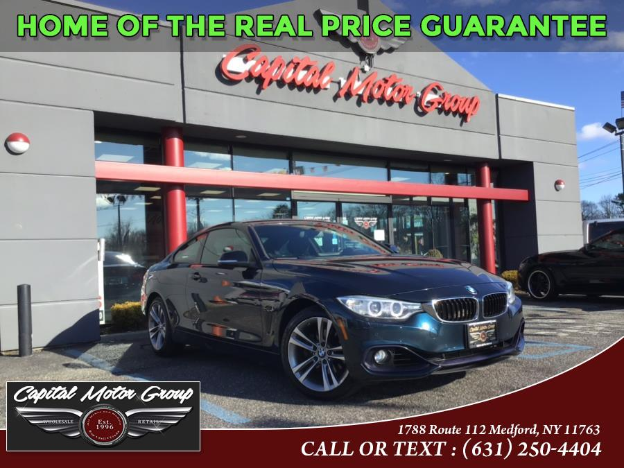 Used BMW 4 Series 2dr Cpe 428i xDrive AWD SULEV 2015 | Capital Motor Group Inc. Medford, New York