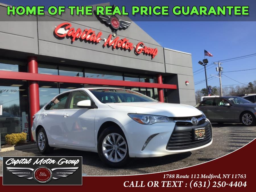 Used Toyota Camry 4dr Sdn I4 Auto LE (Natl) 2015 | Capital Motor Group Inc. Medford, New York