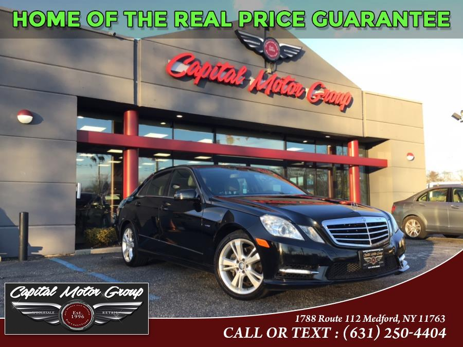 Used Mercedes-Benz E-Class 4dr Sdn E350 Luxury 4MATIC 2012 | Capital Motor Group Inc. Medford, New York