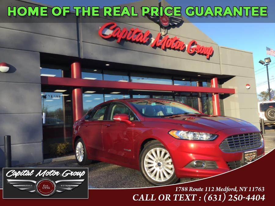 Used Ford Fusion 4dr Sdn SE Hybrid FWD 2015 | Capital Motor Group Inc. Medford, New York