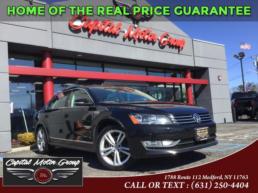Used Volkswagen Passat 4dr Sdn 1.8T Auto SE PZEV *Ltd Avail* 2015 | Capital Motor Group Inc. Medford, New York