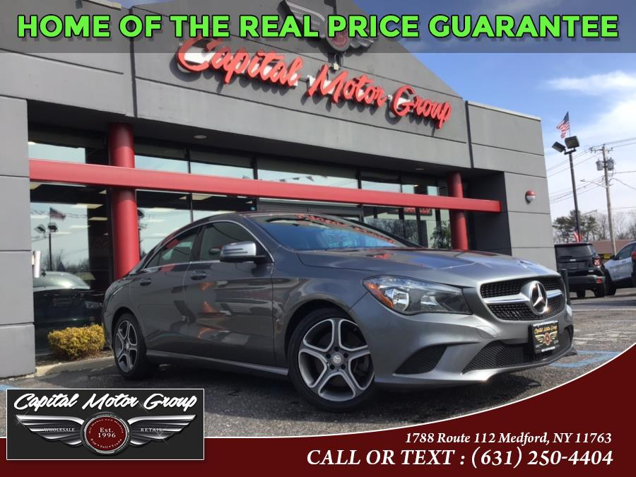 Used Mercedes-Benz CLA-Class 4dr Sdn CLA250 4MATIC 2014 | Capital Motor Group Inc. Medford, New York