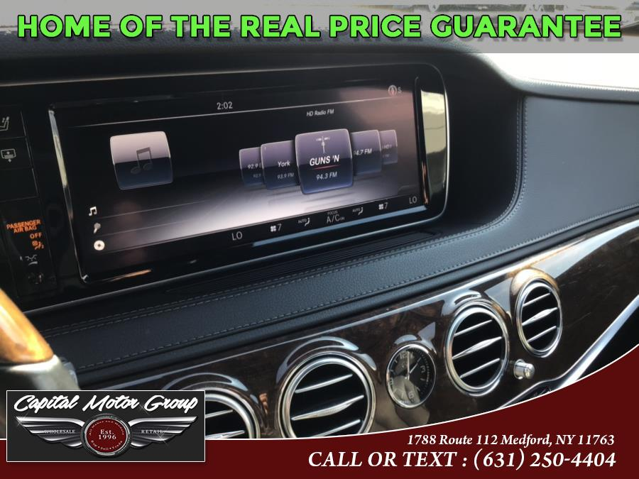 Used Mercedes-Benz S-Class 4dr Sdn S550 4MATIC 2015 | Capital Motor Group Inc. Medford, New York