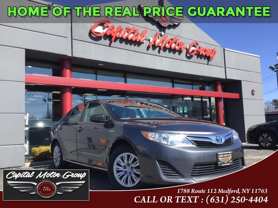 Used Toyota Camry Hybrid 4dr Sdn LE 2013 | Capital Motor Group Inc. Medford, New York