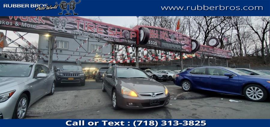 Used 2006 Honda Accord Sdn in Brooklyn, New York | Rubber Bros Auto World. Brooklyn, New York