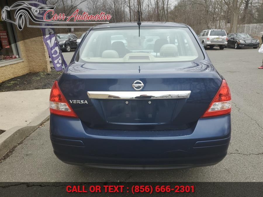 Used Nissan Versa 4dr Sdn I4 Manual 1.8 S 2010 | Carr Automotive. Delran, New Jersey
