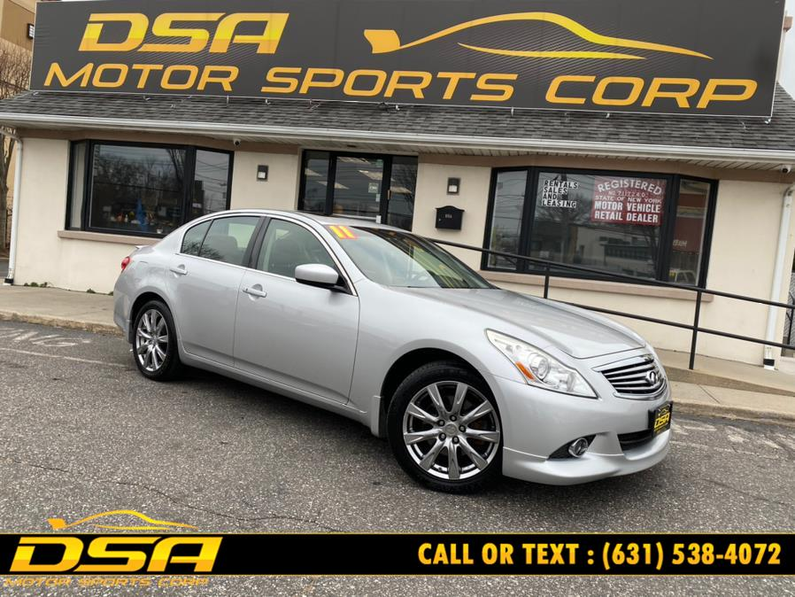 Used 2011 Infiniti G37 Sedan in Commack, New York | DSA Motor Sports Corp. Commack, New York
