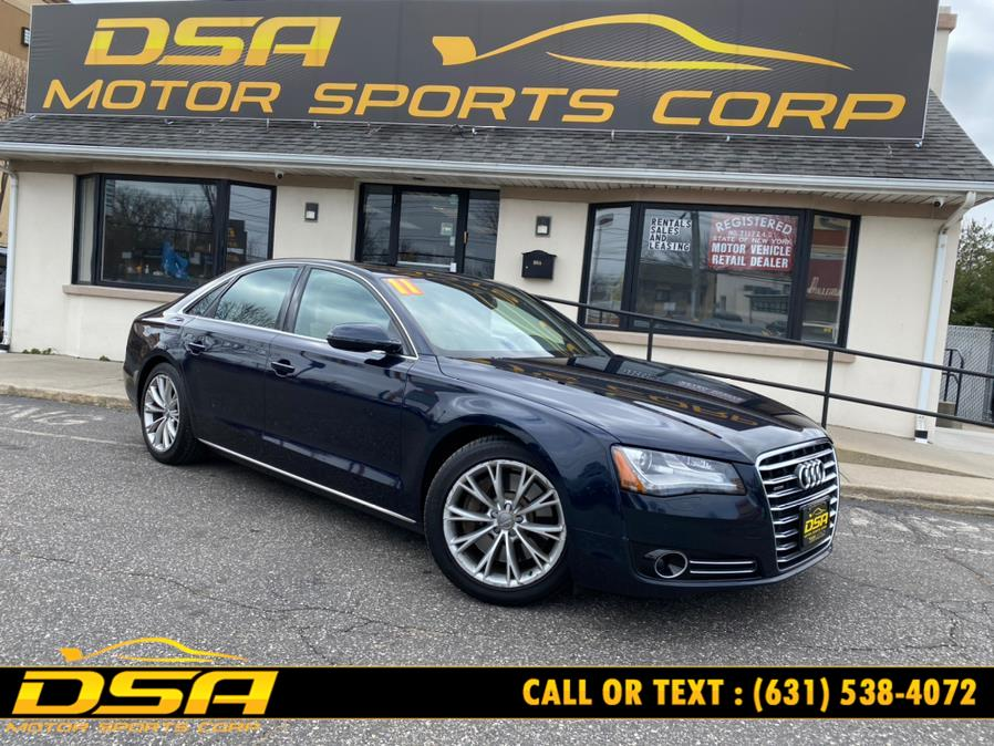 Used 2011 Audi A8 in Commack, New York | DSA Motor Sports Corp. Commack, New York