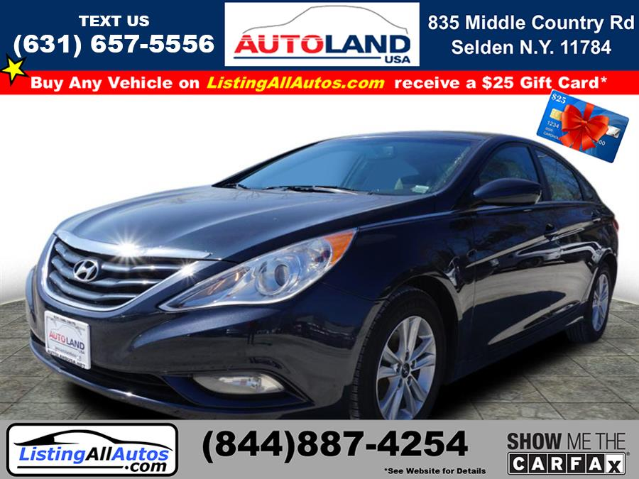 Used Hyundai Sonata GLS 2013 | www.ListingAllAutos.com. Patchogue, New York