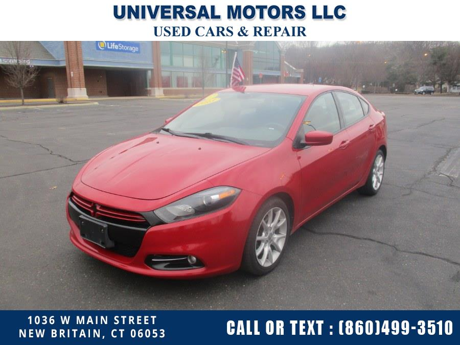 Used Dodge Dart 4dr Sdn Rallye 2013 | Universal Motors LLC. New Britain, Connecticut