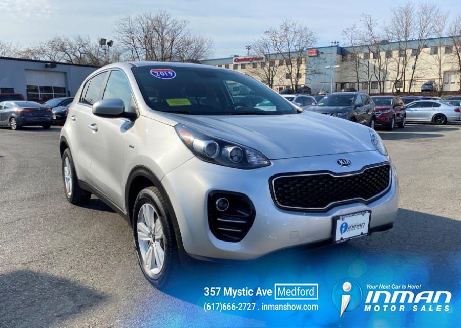 Used Kia Sportage LX AWD 2019 | Inman Motors Sales. Medford, Massachusetts