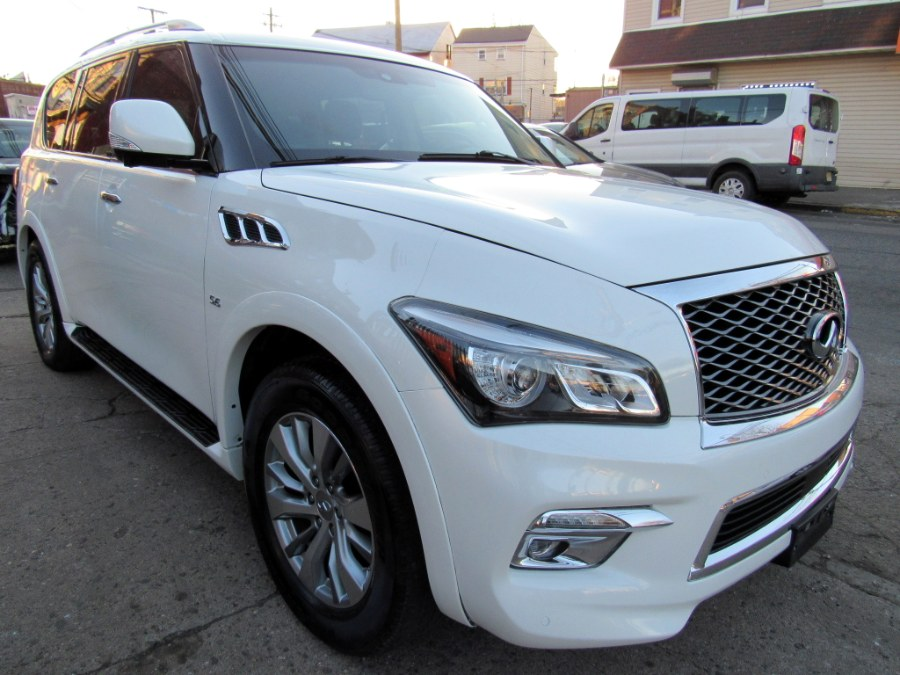 Used 2016 INFINITI QX80 in Paterson, New Jersey | MFG Prestige Auto Group. Paterson, New Jersey