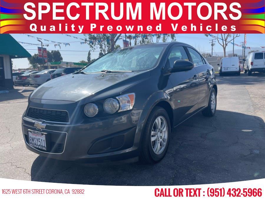 Used Chevrolet Sonic 4dr Sdn Auto LT 2016 | Spectrum Motors. Corona, California