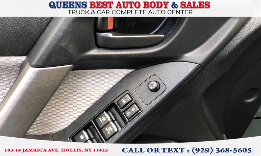 Used Subaru Forester 2.5i Premium CVT 2017 | Queens Best Auto Body / Sales. Hollis, New York