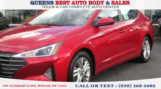 Used 2019 Hyundai Elantra in Hollis, New York | Queens Best Auto Body / Sales. Hollis, New York