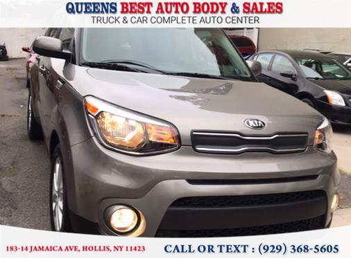 Used Kia Soul + Auto 2019 | Queens Best Auto Body / Sales. Hollis, New York