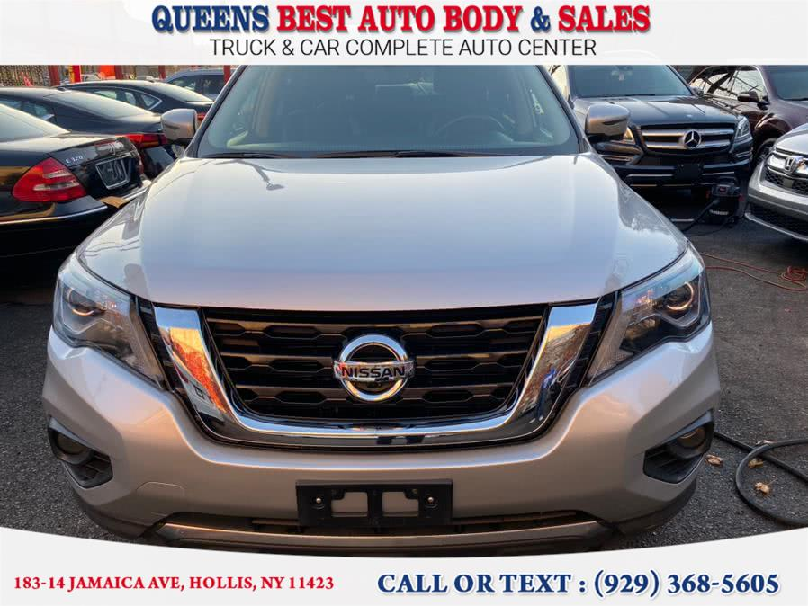 Used 2019 Nissan Pathfinder in Hollis, New York | Queens Best Auto Body / Sales. Hollis, New York