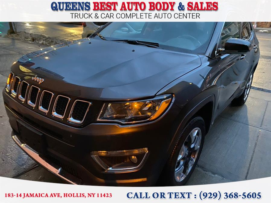 Used Jeep Compass Limited 4x4 2020 | Queens Best Auto Body / Sales. Hollis, New York