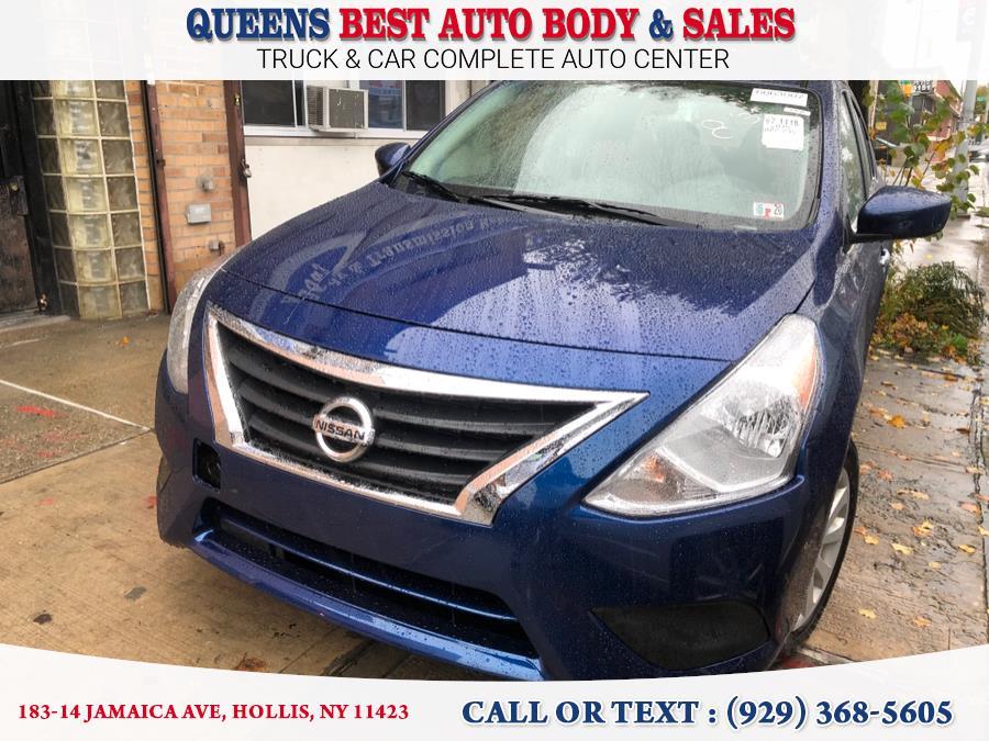 Used Nissan Versa Sedan SV CVT 2019   Queens Best Auto Body / Sales. Hollis, New York