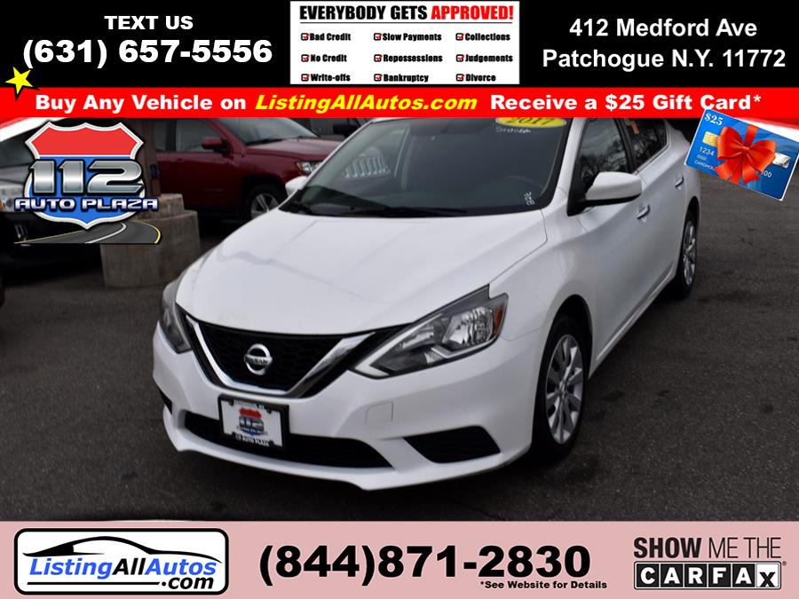 Used Nissan Sentra SV CVT 2017 | www.ListingAllAutos.com. Patchogue, New York