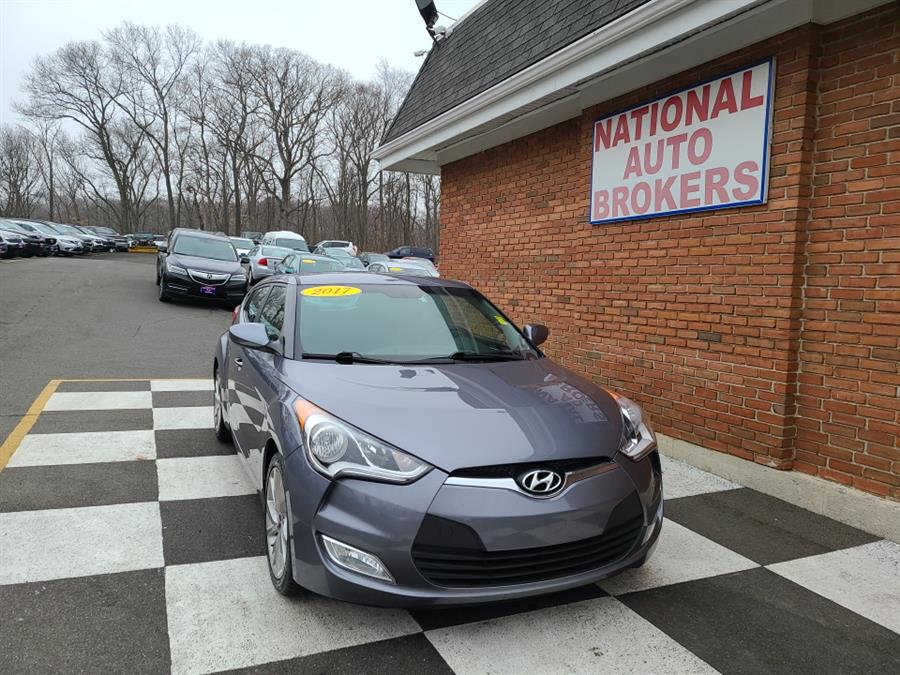 Used 2017 Hyundai Veloster in Waterbury, Connecticut | National Auto Brokers, Inc.. Waterbury, Connecticut