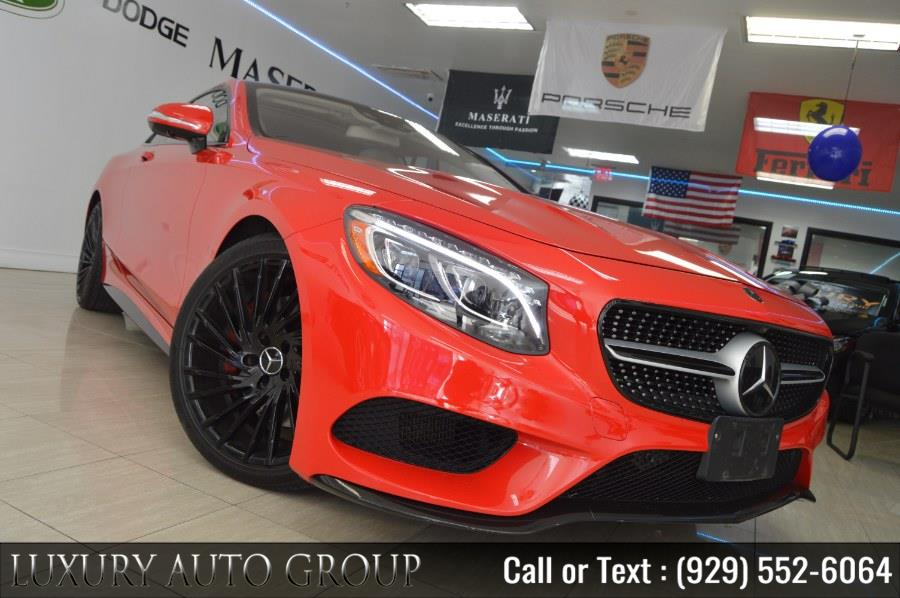 Used Mercedes-Benz S-Class 2dr Cpe S550 4MATIC 2015 | Luxury Auto Group. Bronx, New York