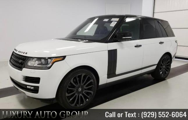 Used 2017 Land Rover Range Rover in Bronx, New York | Luxury Auto Group. Bronx, New York