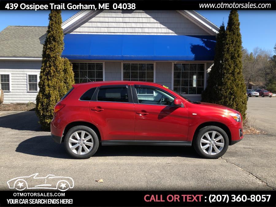 Used 2013 Mitsubishi Outlander Sport in Gorham, Maine | Ossipee Trail Motor Sales. Gorham, Maine