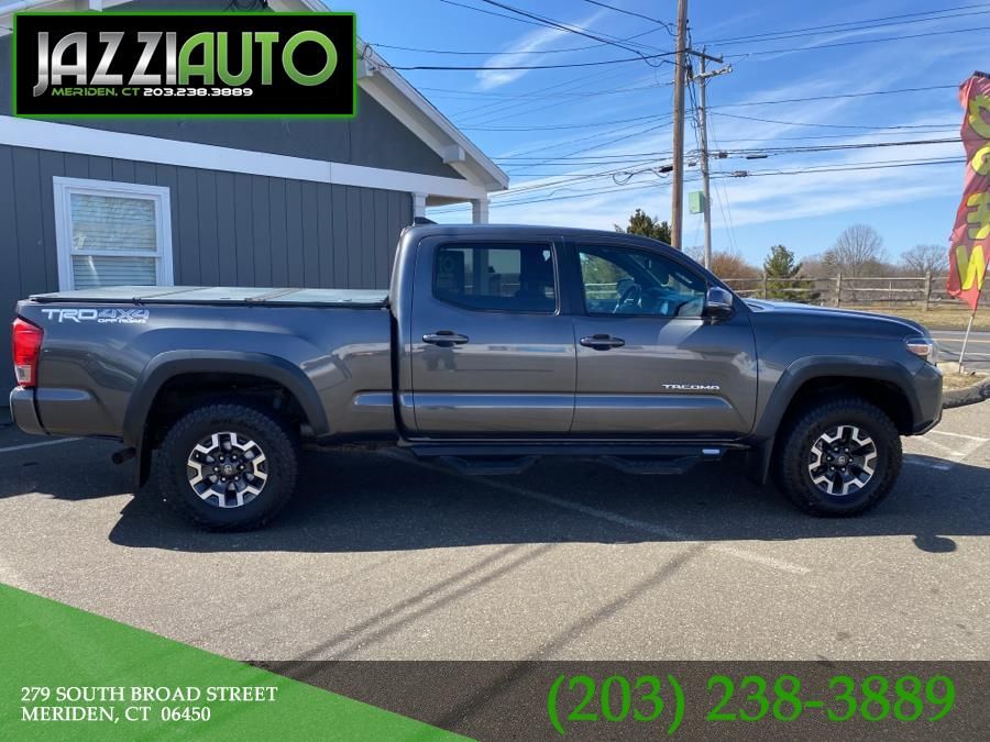 Used Toyota Tacoma TRD Off Road Double Cab 6'' Bed V6 4x4 AT (Natl) 2017 | Jazzi Auto Sales LLC. Meriden, Connecticut