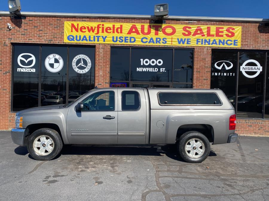 """Used Chevrolet Silverado 1500 4WD Ext Cab 143.5"""" LT 2013   Newfield Auto Sales. Middletown, Connecticut"""