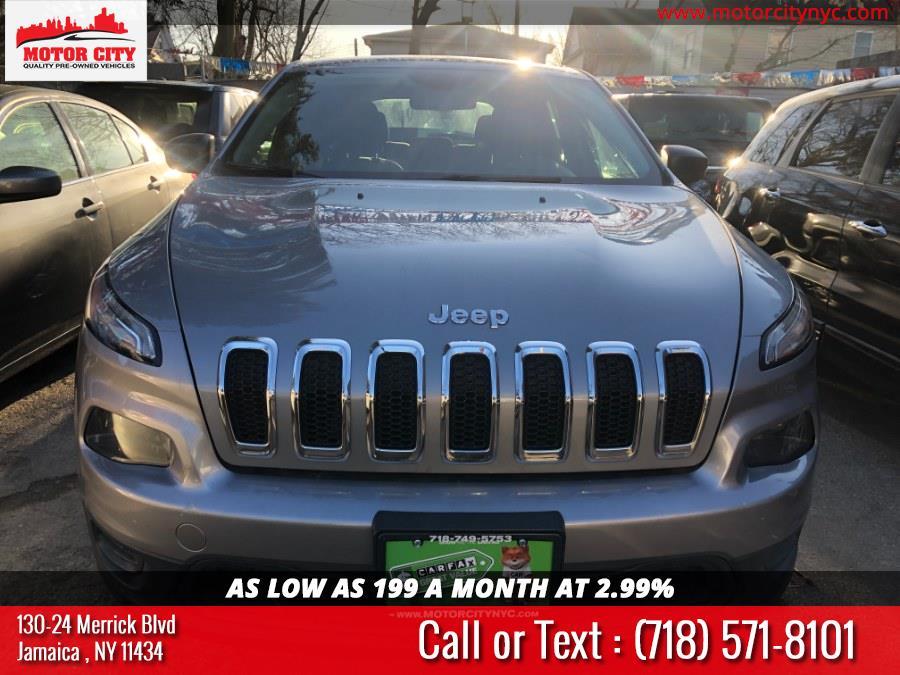 Used Jeep Cherokee 4WD 4dr Sport 2014 | Motor City. Jamaica, New York