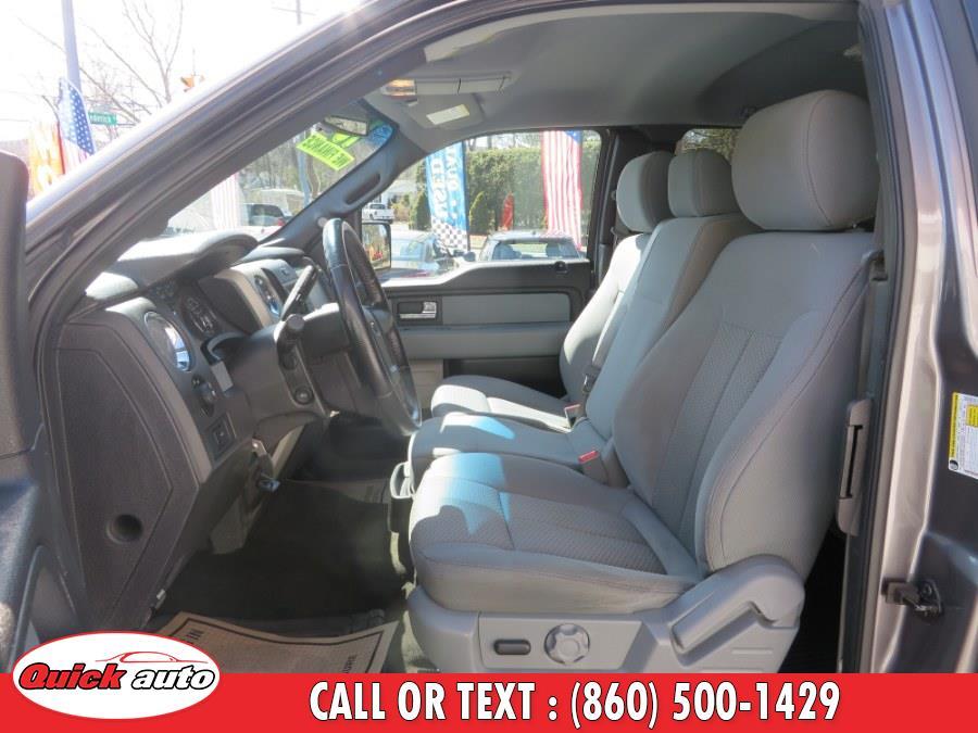"Used Ford F-150 4WD SuperCab 145"" XLT 2013 | Quick Auto LLC. Bristol, Connecticut"